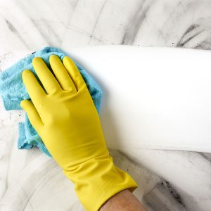 General cleaning for managing COVID-19 in hospitality businesses