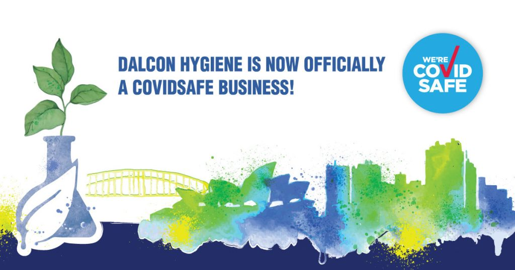 banner Dalcon Hygiene is now officially a COVIDSafe Business!