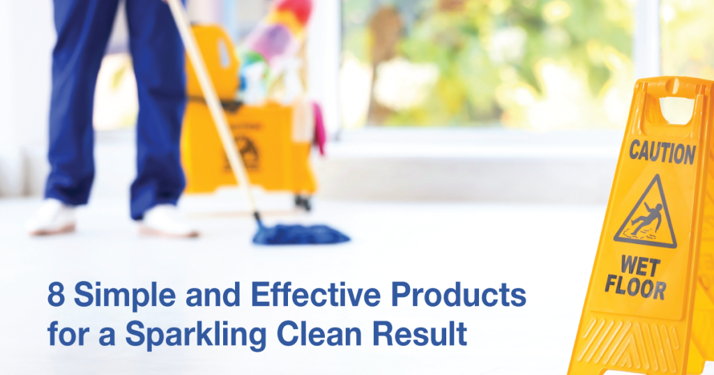 Cleaner using most popular products to cleaning